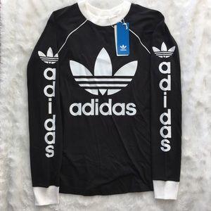 Adidas Trefoil Black Sweater